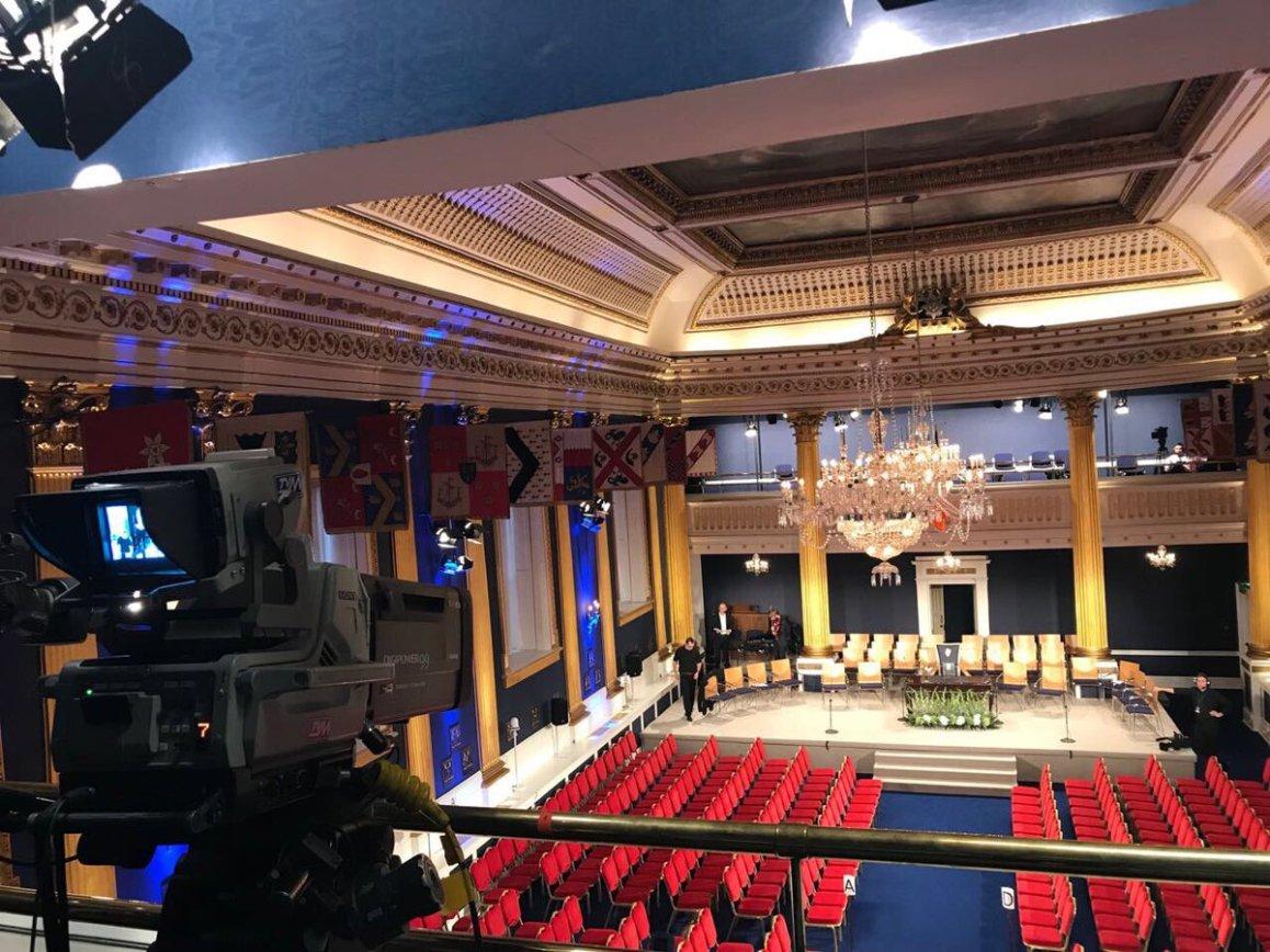 test Twitter Media - We are in Dublin Castle for the Presidential Inauguration on @rte https://t.co/LTSkKQ5uer
