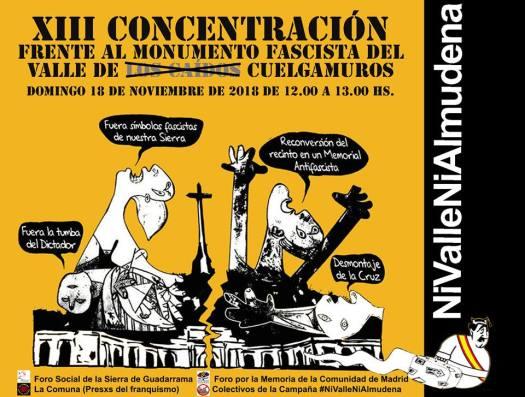 test Twitter Media - El domingo #18Noviembre 12:00 volvemos a Cuelgamuros para exigir su desmantelamiento y reconversión en memorial democrático, y dejar claro que #NiValleNiAlmudena @FMemoriaMadrid @lacomunapresxs @encuentrmemoria @FMemoriaSegovia @MemoriaGuada @memoria_podemos @IUMemoria https://t.co/E4CI53vBXM