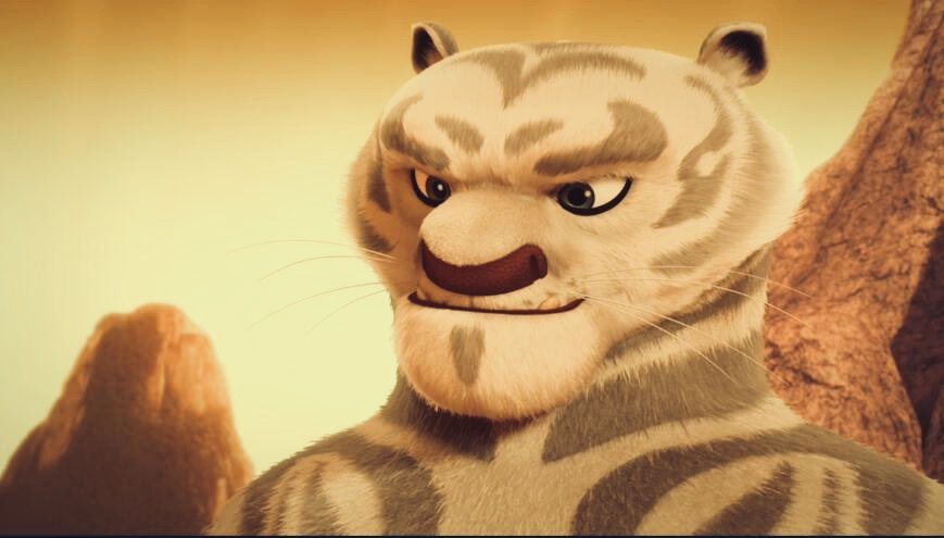 Halu Shon On Twitter White Tiger From Kung Fu Panda The Paws Of Destiny