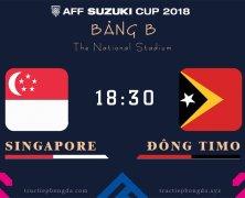 Xem lại: Singapore vs Đông Timor