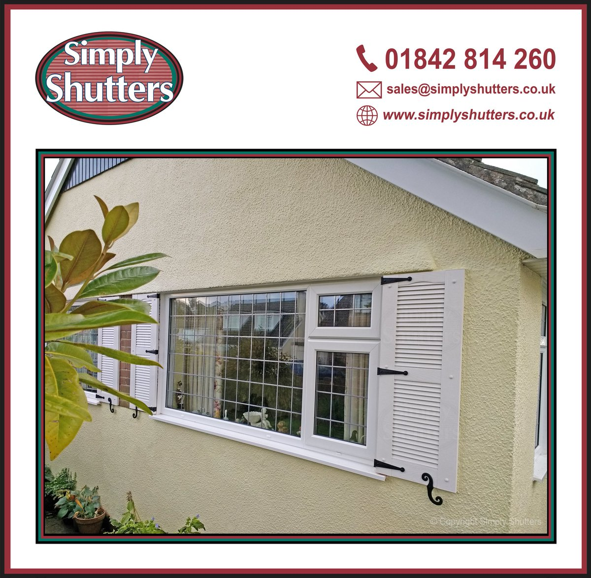 Simply Shutters On Twitter One Of Our Lovely Customers