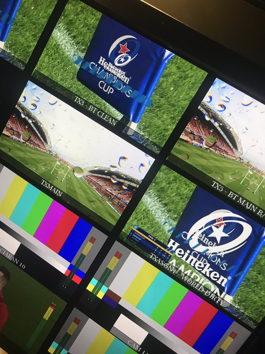 test Twitter Media - We are in Thomond Park Limerick today for BT sport, Champions Cup Rugby Munster v Castres Olympique kick off here is 13.00 https://t.co/vQFCwkRRIG