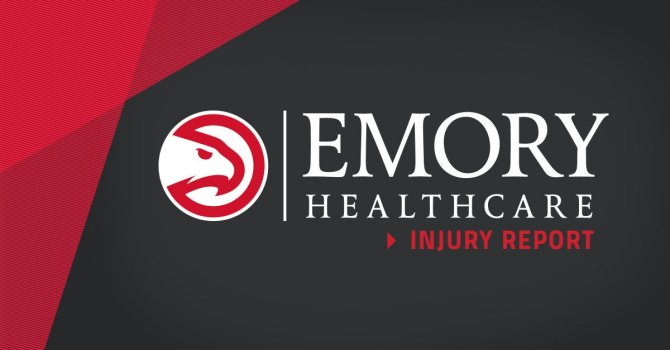 RT @ATLHawks An @emoryhealthcare injury report for tomorrow's game:   Miles Plumlee (left knee pain): Doubtful   Jeremy Lin: Out Alex Poythress: Out Omari Spellman: Out Taurean Prince: Out