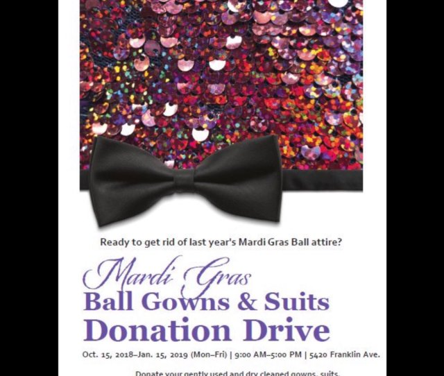 Clerk Chelsey Richard Napoleon On Twitter Mardi Gras Ball Gowns Suits Donation Drive Nordcommission