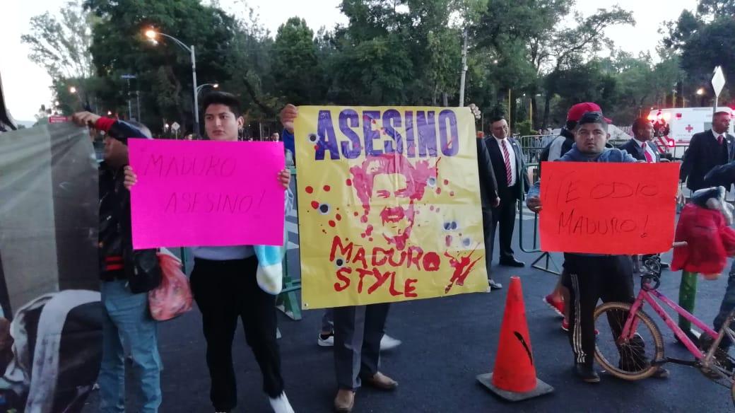 Nicolás Maduro llega a México