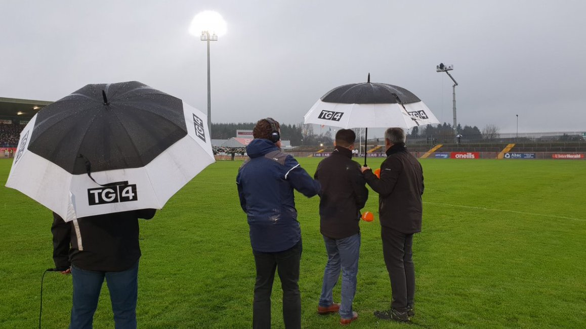 test Twitter Media - It's Healy Park Omagh Today.  TVM providing facilities for @GAA_BEO For the Ulster SFC Club Final between Gaoth Dobhair and Scotstown. Watch live now.  @SportTG4 @nemetontv https://t.co/3HQOYW21Nf