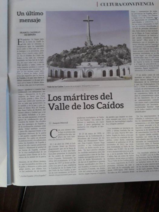 test Twitter Media - A la entrada de la basílica del Valle de los Caídos se puede coger esta publicación llena de apología de la dictadura franquista. ¿No es delito? @DGobiernoMadrid @policia @interiorgob https://t.co/FHxZNNYIQG