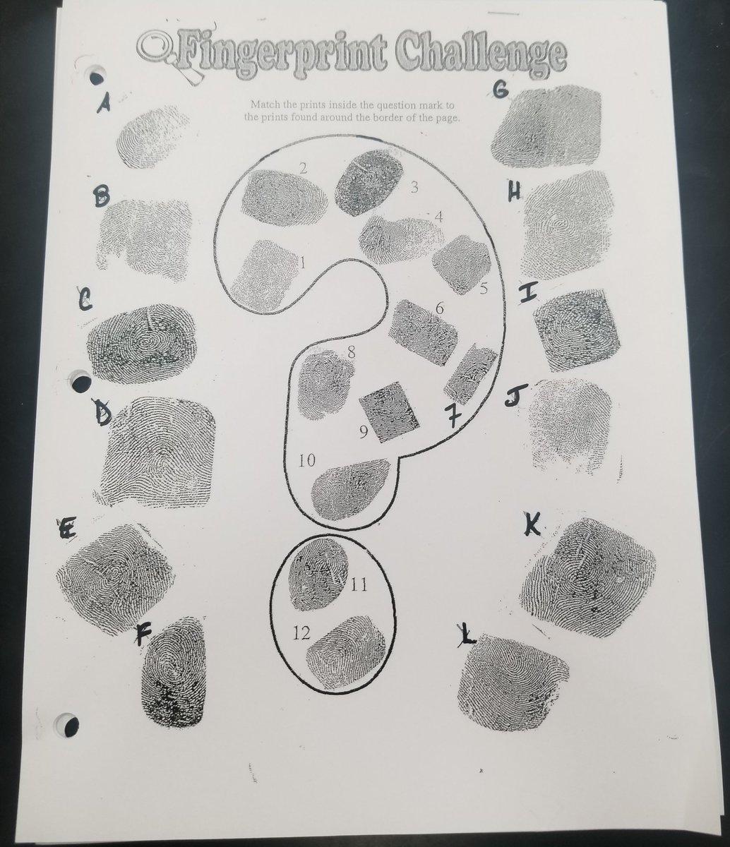 Bestseller Fingerprint Challenge Answers