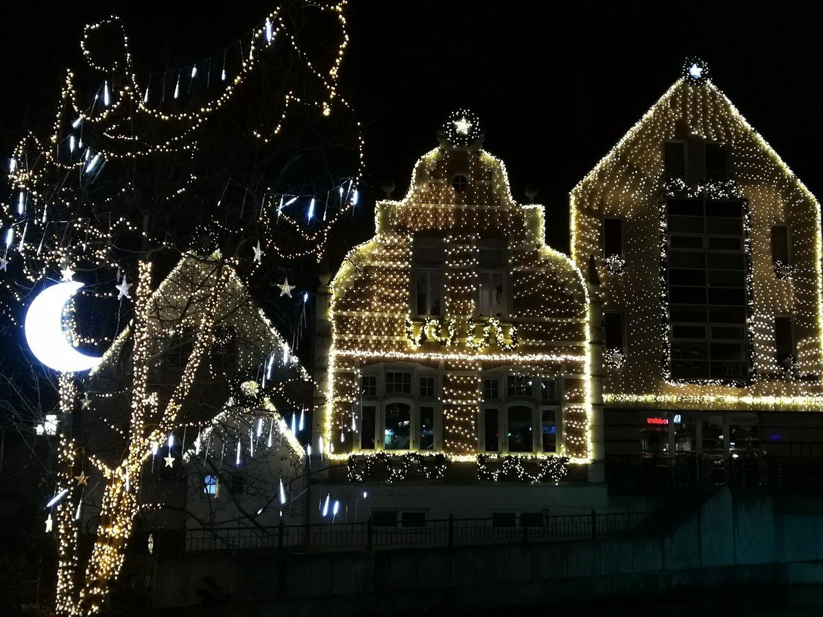 nordhorner innenstadt weihnachtlich