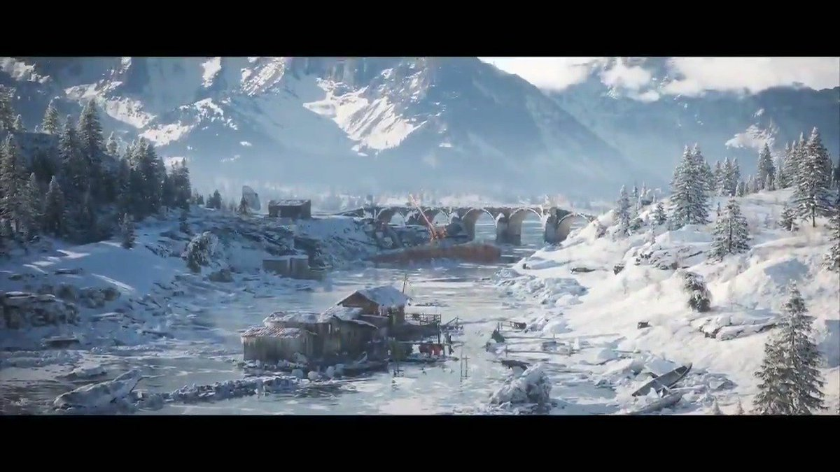 PUBG On Twitter Introducing Vikendi A Brand New Map Wreathed In Snow Winter Has Come To