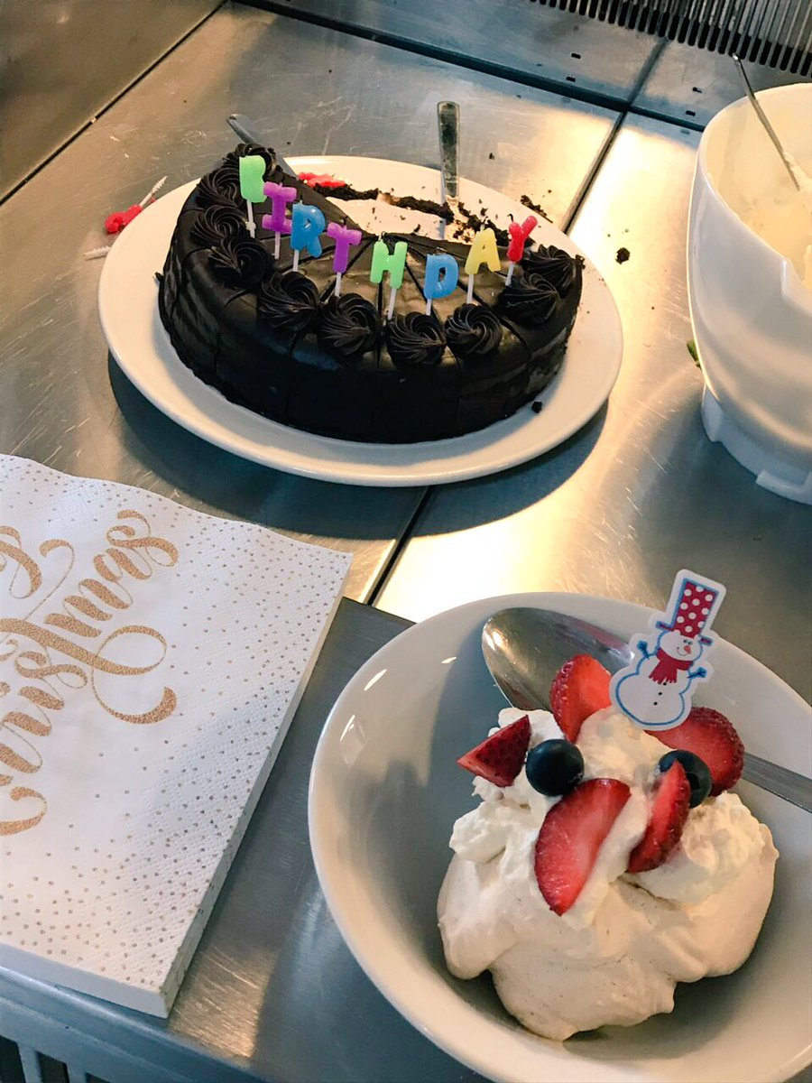 test Twitter Media - It was Christmas Dinner Day today in TVM & @IRISRacing HQ. Topped off with desert & birthday cake for a member of the team🤤 https://t.co/88NNmsFP9x