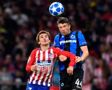 Video: Club Brugge vs Atletico Madrid