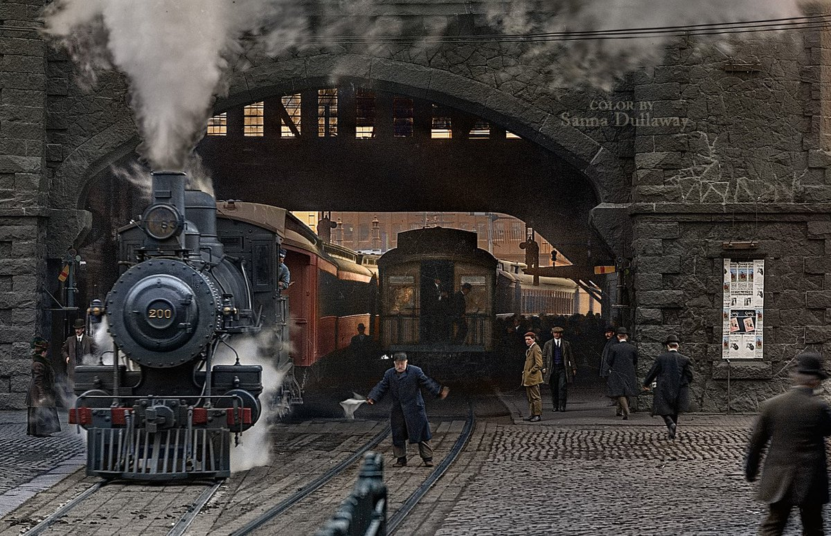Sanna Dullaway Sur Twitter Colorization Boston And Maine