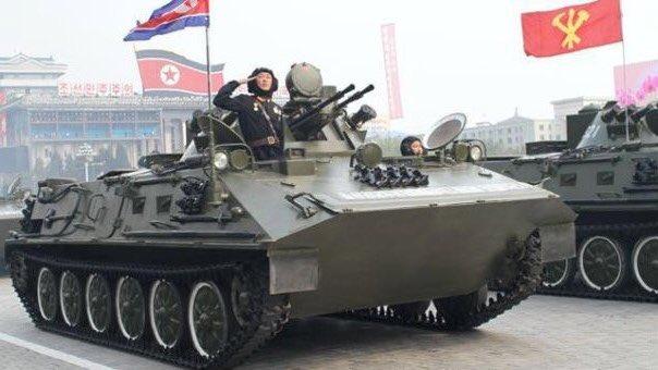 test ツイッターメディア - 北朝鮮もそろそろ新IFV(砲塔)を考えた方がいいのではないかと思った。対戦車ミサイルが無いし、連装といえども14.5mmではK21に対抗できない。 https://t.co/1TMyJPhcHo