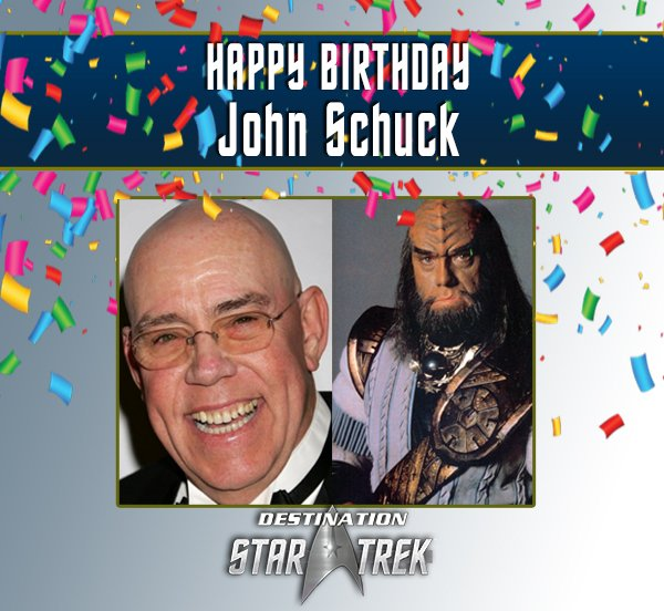 Destination Startrek Auf Twitter Happy Birthday John Schuck Many Of You Will Recognize Him As The Klingon Ambassador From Star Trek Iv The Voyager Home And From Star Trek Vi The Undiscovered