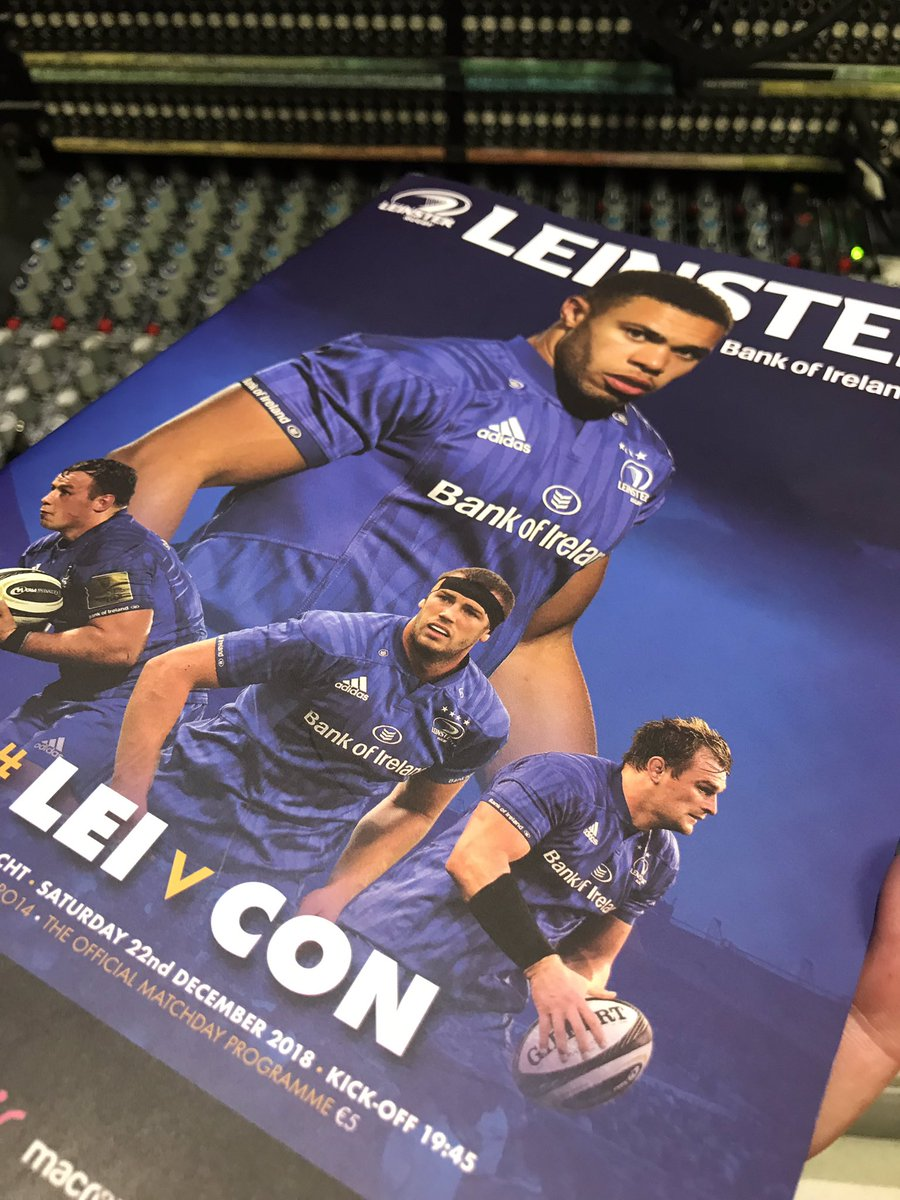 test Twitter Media - We are in the RDS tonight for Leinster v Connacht Pro14, kick off here is at 19.45 live on EirSport. https://t.co/pFSjPPcdVd