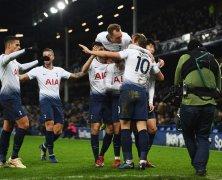 Video: Everton vs Tottenham Hotspur