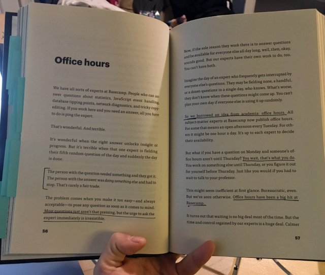 Thought About Having Office Hours Its A Way Of Reserving Time For Folks To Ask Questions To Any Office Expert While Reducing Interruptions Cc Tckr