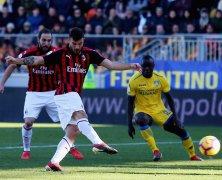 Video: Frosinone vs AC Milan