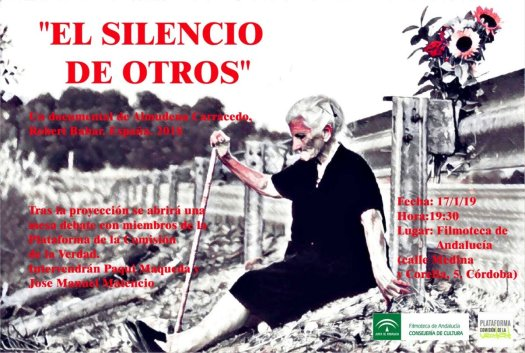 "test Twitter Media - 🎥 Documental ""El silencio de otros"" 📍 Filmoteca de Andalucía 🗓 Jueves 17 🕣 19:30h #Cordoba https://t.co/hLSUShnnUK"