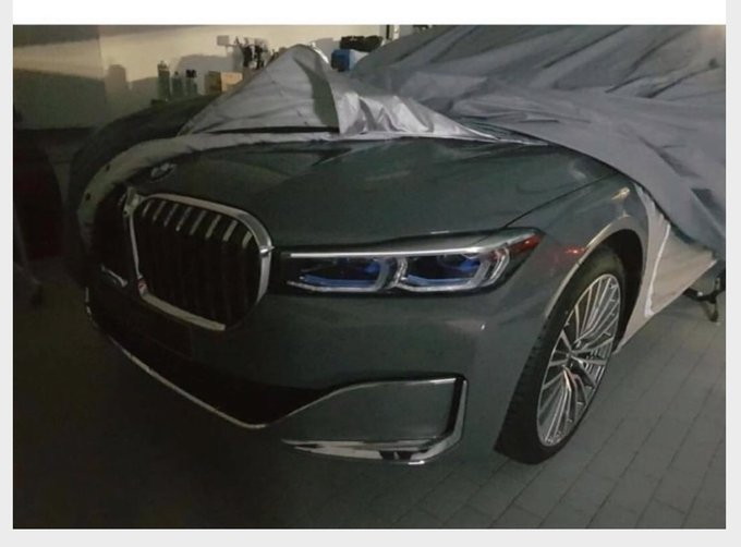 This Leaked Image Of The 2020 Bmw 7 Series Showcases A Grille