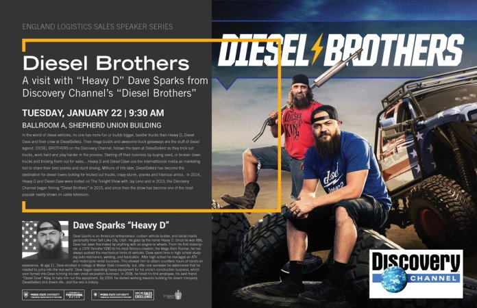 Weber State University On Twitter Dieselbrostv S Heavy D Dave Sparks Is Coming To Weberstate On Jan 22 Join Us In The Shepherd Union Ballroom A At 9 30 A M The Event Is Free