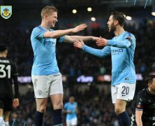 Video: Manchester City vs Burnley