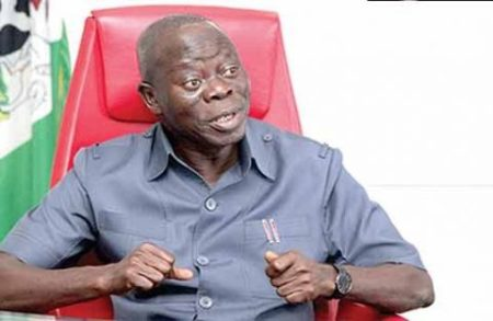 Saraki, 16 Lawmakers Who Dumped Apc Have Been Punished Says Oshiomole