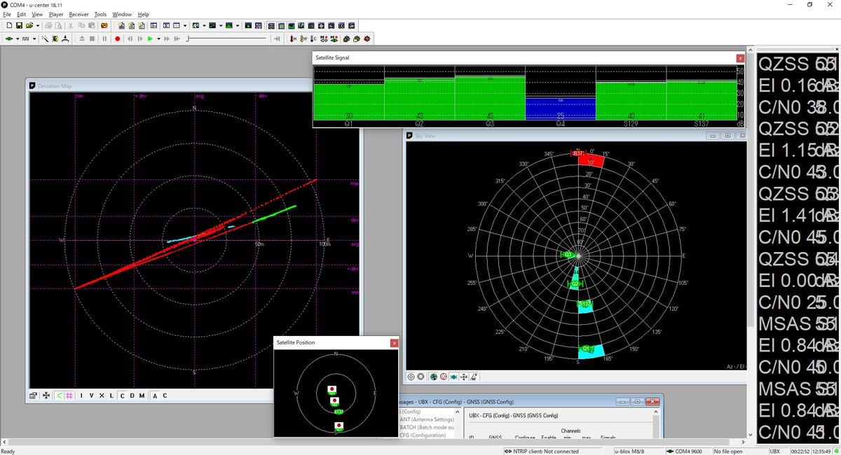 test ツイッターメディア - で… 日本の衛星だけで測位したらどうなるか? やってみた… やっぱ、衛星配置悪すぎ… まぁ、『みちびき3号』を捕まえてくれて #129なSBASをMTSAT-1Rが吹いていれば かなり違うんだろうけど…   #GNSS #みちびき #SBAS #MTSAT https://t.co/vDxm2sCEuQ