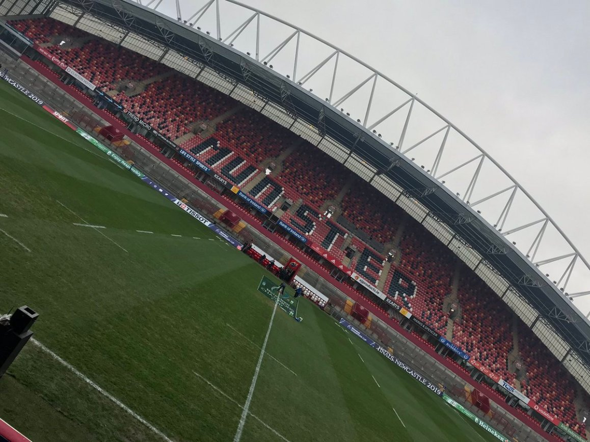 test Twitter Media - We are in Thomond Park today for @VMSportIE and @btsportrugby It's @Munsterrugby v @ExeterChiefs in the @ChampionsCup  Kick off here is at 17.30 https://t.co/p796eOb097