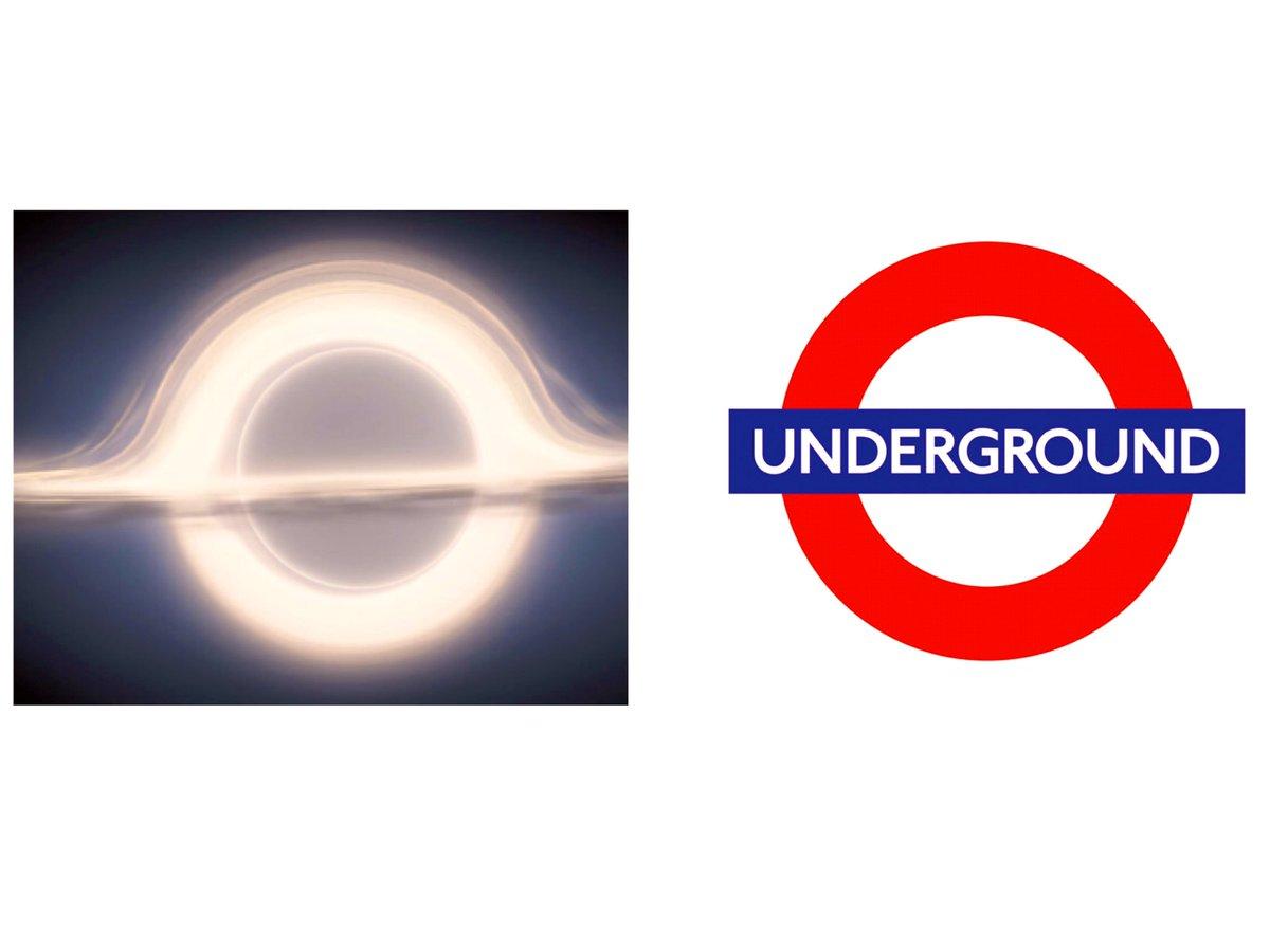 test ツイッターメディア - アマプラで映画インターステラーを3時間かけ鑑賞。巨大ブラックホールの映像がロンドンの深くて暗い地下鉄を思い出させた気がしたが、そうではなかった。 思い出させたのはロンドン地下鉄のロゴだった。 #インターステラー https://t.co/IW0JtiRhZe