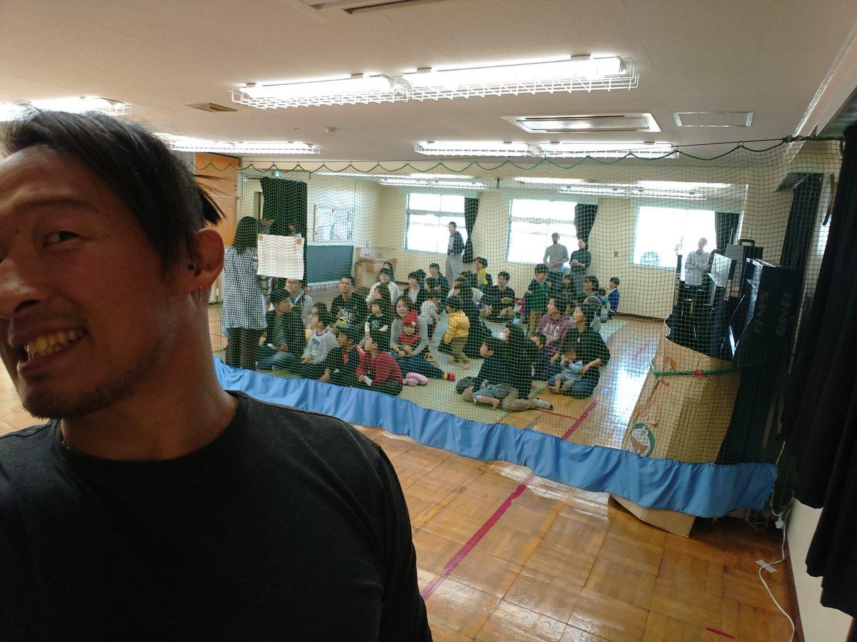 test ツイッターメディア - 今日は児童館へボランティアゲストで触れあいに♪  ノアは博多大会!僕はいませんがお近くのみなさんぜひよろしくね! https://t.co/oabzVfUBSN