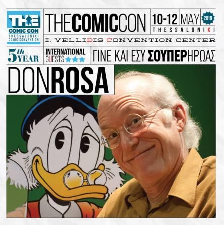Για 5η συνεχόμενη χρόνια το Comic Convension(The ComicCon)επιστρέφει στην πόλη της Θεσσαλονίκης για να διασκεδάσει με μοναδικούς τρόπους τους λάτρεις της 9ης αλλά και της 7ης τέχνης. Από τις 10 έως και τις 12 Μαΐου (10-12/5) το παρόν θα εκτυλίσσεται στον συνεδριακό χώρο «Ιωάννης Βελλίδης» της ΔΕΘ-Helexpo με κύριο σκοπό να φέρει κοντά για μια ακόμη φορά τους πιστούς του επισκέπτες.