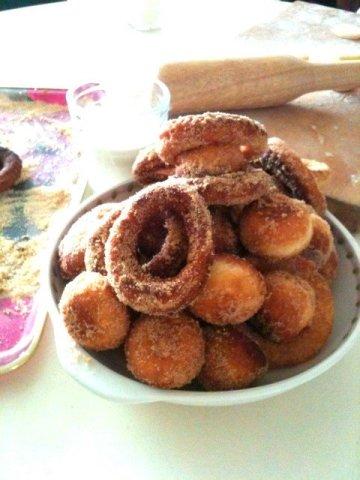 집에서 만드는 도넛