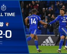 Video: Cardiff City vs AFC Bournemouth