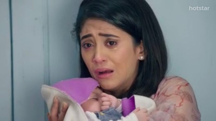 "Divya on Twitter: ""What a gut wrenching episode.💔💔 Naira,her  shock,realization, heartbreak,dilemma,decision to do what is necessary, the  pain, handing over krish to his birth mother, a state of lifelessness.  @shivangijoshi10 you were"