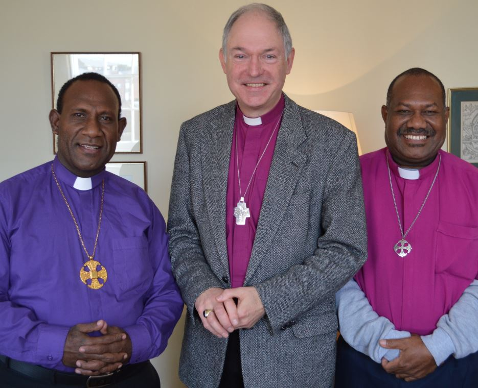 Bishop James & Bishop Rickson would like to thank Bishop Robert & all the friends and supporters they have met over the last three days in…