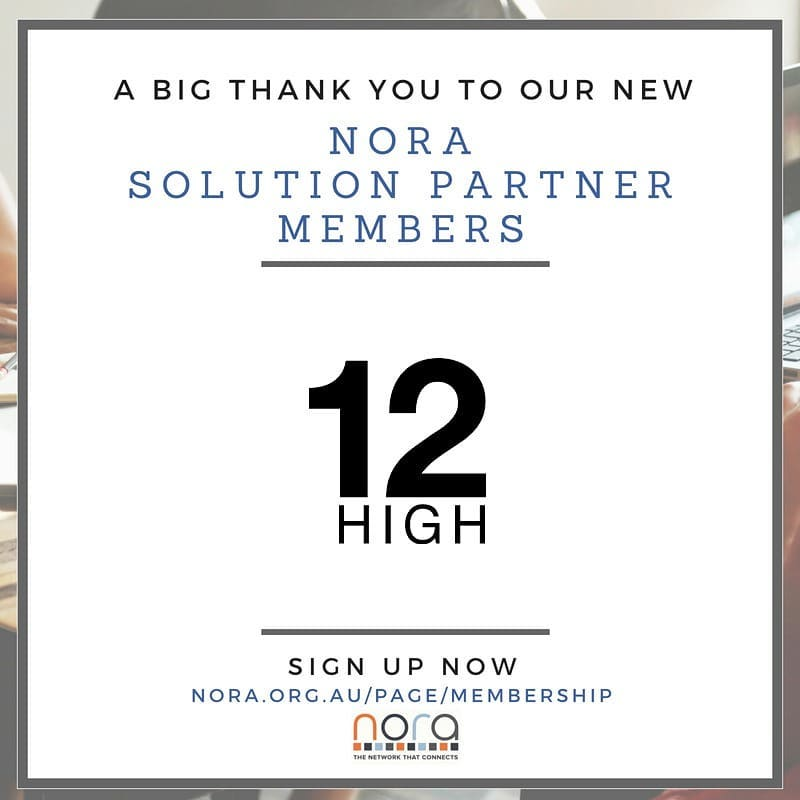 We're proud to be working with @PaulsChirps and the team at @NORA_aus. Looking forward to be part of an inspiring community of ecommerce retailers and partners! #ecommerce