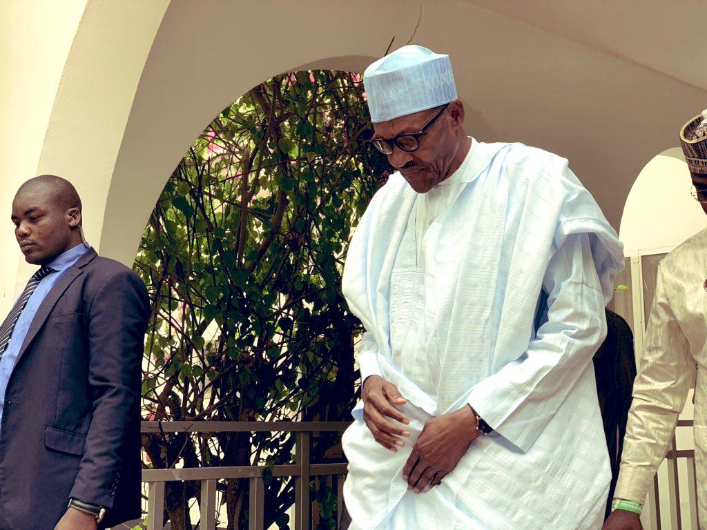 DzhQBG3WkAU4X9V - Breaking!!! Buhari Departs Daura For Abuja After Postponement