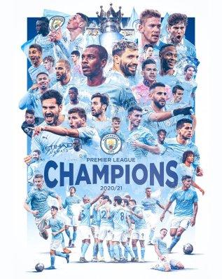 Manchester City, 2020-2021 PL Champions! (@ManCityUS) | Twitter