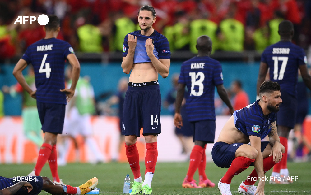 """AFP News Agency on Twitter: """"#BREAKING Switzerland knock world champions  France out of Euro 2020 For #AFPSports… """""""