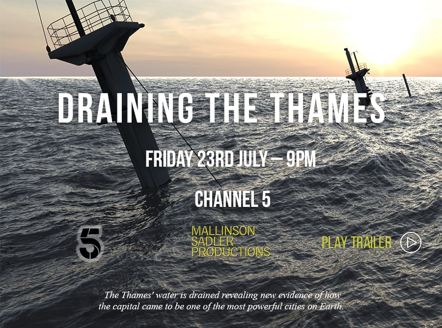 I think there might be a little bit of my input in tonight's episode regarding the #Londonwreck1665, working alongside some great maritime archaeologists from @MSDSMarine. https://t.co/2W2tkfFMyS