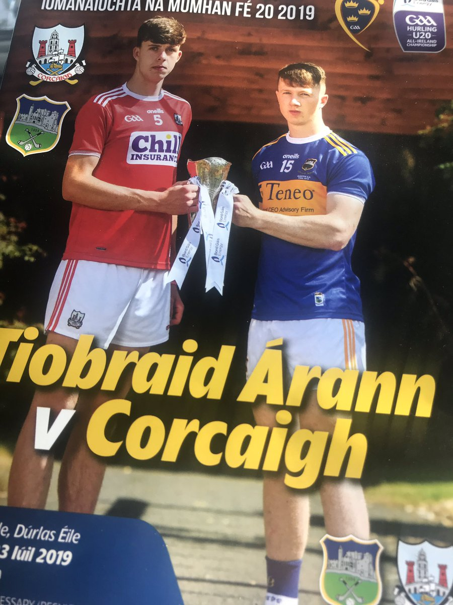 test Twitter Media - It's the Munster Hurling U20 Final time here in Semple Stadium Thurles, Tipp are playing Cork, watch us now on TG4 https://t.co/9betQ5c1Zq