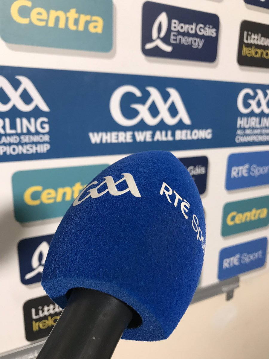 test Twitter Media - We are live on RTE 2, It's Kilkenny v Limerick in the Senior Hurling Championship Semi-Final https://t.co/SXvt2UfsOg