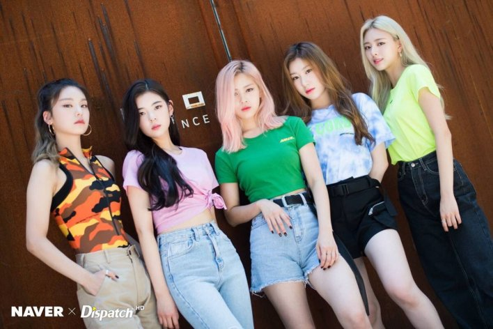 Image result for itzy dispatch site:twitter.com