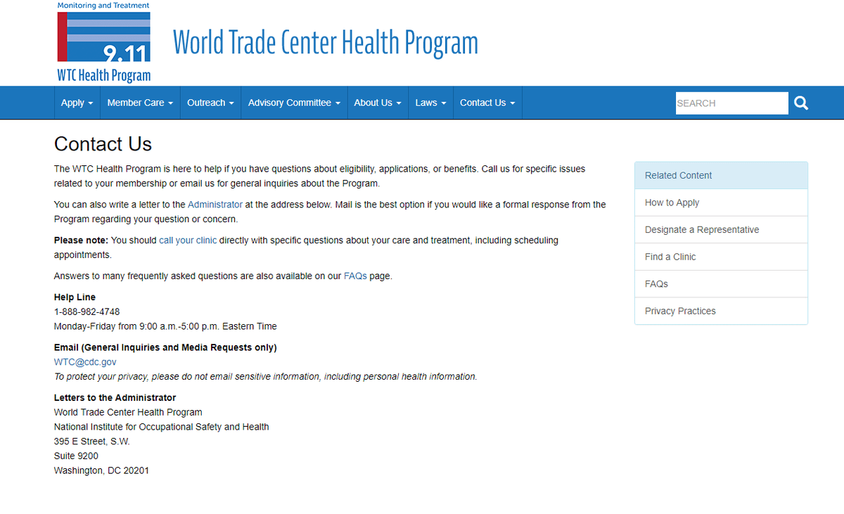 Wtc Health Program On Twitter Did You Know That If Your