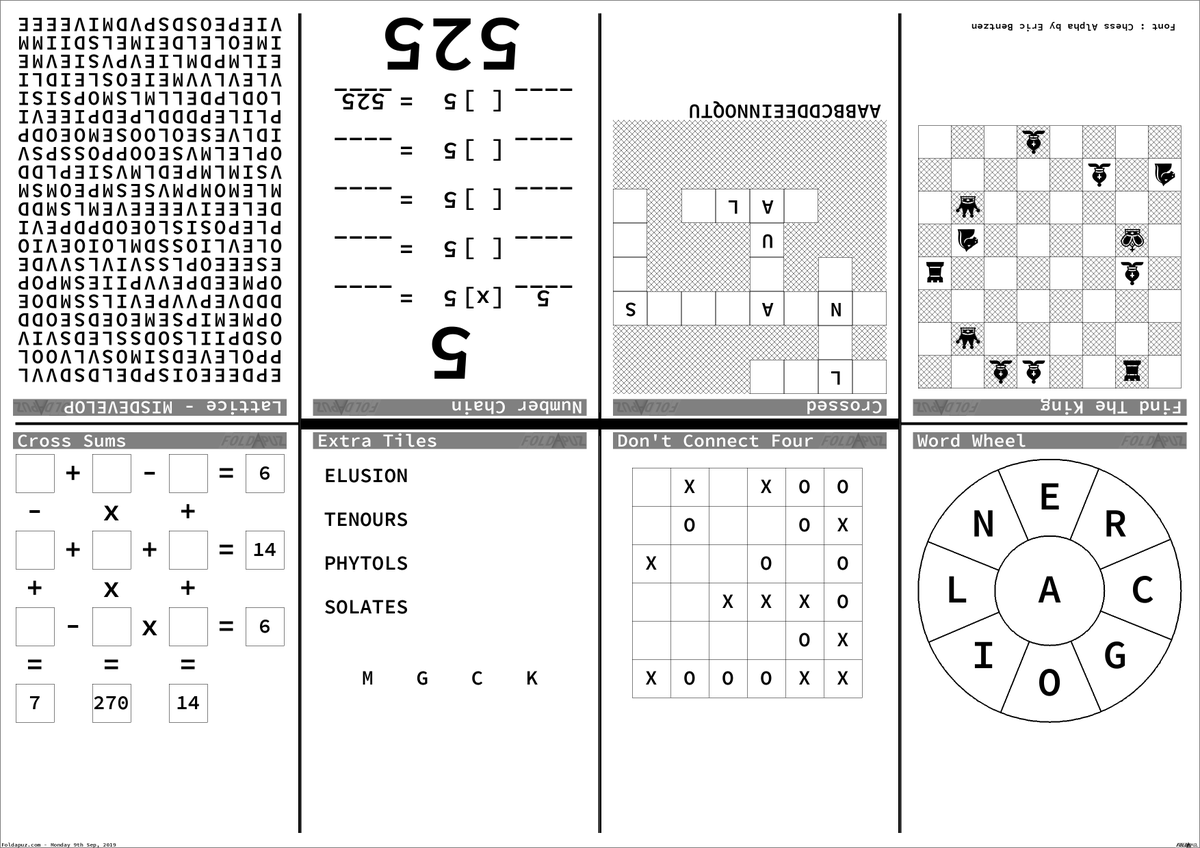 Printable Chess Puzzles That Are Agile