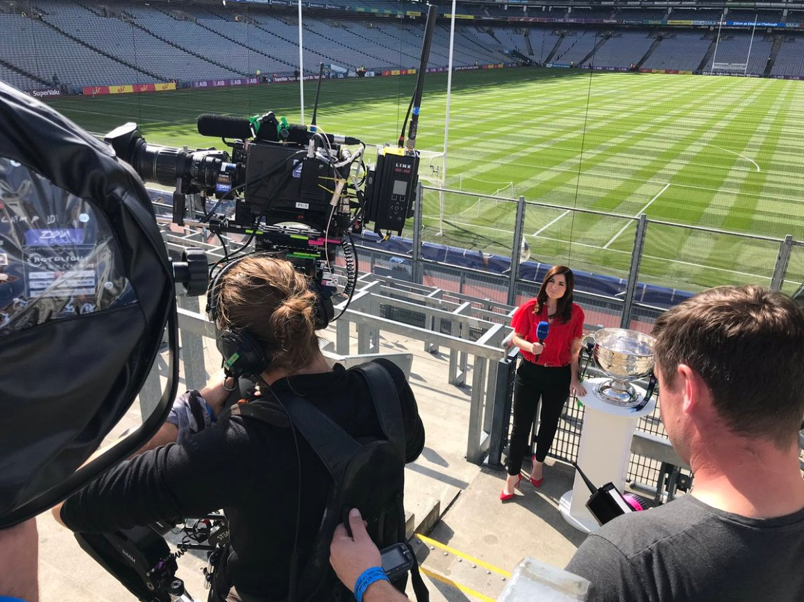 test Twitter Media - Getting ready for the for the All Ireland Senior Football Final, It's Dublin v Kerry. Watch us live on RTE 2 coverage starts at 14.15 https://t.co/lR5SCqV1IZ