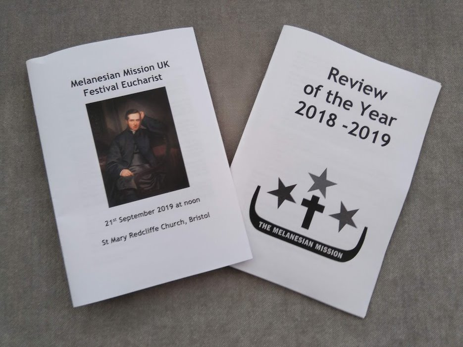 Many thanks to Ottery St Mary Parish Church for printing our Review of the Year and Festival Day Service booklets.  @stmarysottery @CofEDevon…