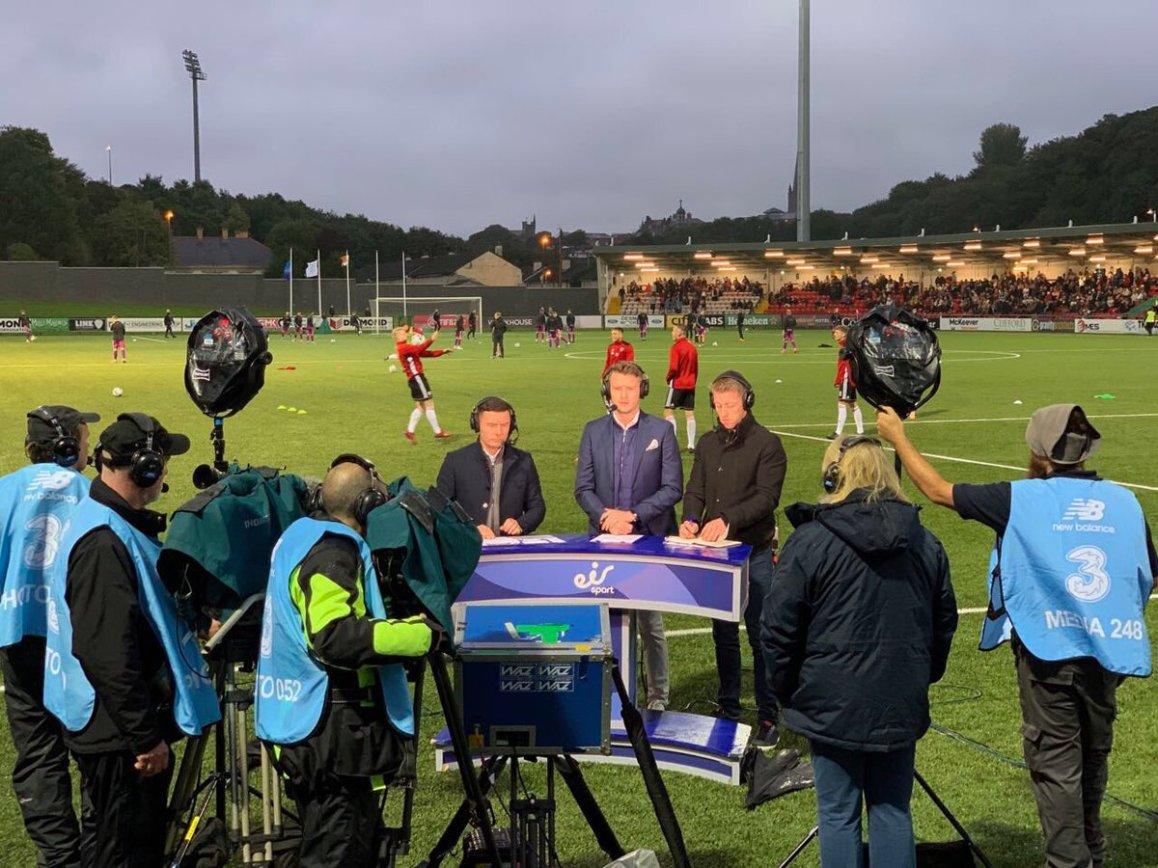test Twitter Media - EA Sports Cup Final. @derrycityfc v @DundalkFC on @eirSport https://t.co/cN2tiJO2Ja